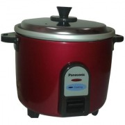 Panasonic Electric Cooker 1 Ltr. (Without Warmer) SR WA 10 (GE9) Burgundy Color