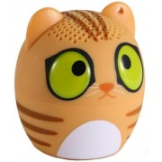Boxa Portabila Yuppi Love Tech Cat, Bluetooth, Buton pentru selfie (Maro)