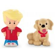Fisher-Price Little People Eddie& Dog by Fisher-Price