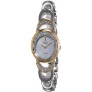 Seiko Multi Metal Round Dial Analog Watch For Women (SUP296P1)