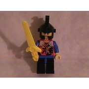 Lego Castle Dragon Knights Kingdom Custom Minifigure with Sword