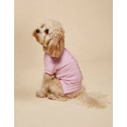 River Island Womens RI Dog Pink ruched jersey top