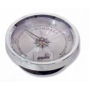 Gewa Hygrometer silber Hygrometer Anzeige Messgerät Feuchtigkeitsmesser Luftfeutigkeitsmesser