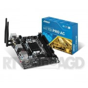 MSI H170I PRO AC - Raty 10 x 56,90 zł - dostępne w sklepach