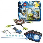 Lego Year 2013 Legends of Chima Series Game Set #70105 - NEST DIVE with Eagle Speedor Nest with 4 Leaf Ramps Rip cord