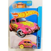 VW VOLKSWAGEN BEETLE BUG TREASURE HUNTS TH T-HUNT HOT WHEELS CHASE CAR 2015