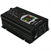 Invertor auto cu CPU control, port usb si display digital 12V 1000W