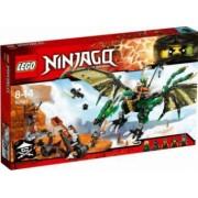 LEGO NINJAGO - DRAGONUL VERDE NRG 70593