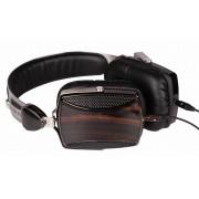 Sluchátka dřevěné Esmooth ES-665EB