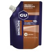 GU Energy Roctane - Nutrition sportive - Sea Salt Chocolate 15 x 32g beige/marron Gels énergétiques