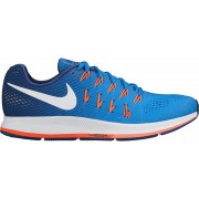 Nike Air Zoom Pegasus 33 Laufschuh Men Star Blue/White-Coastal Blue 47,5 Running Schuhe