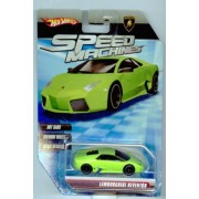 Hot Wheels Speed Machines Lamborghini Reventon Green 1:64 Scale