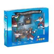 Pirate Gift Box 4 Corsairs with Treasure Chest