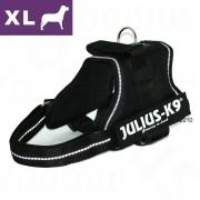 Julius-K9 Szelki dla psa Julius-K9 Power Black, XL - Obwód klatki piersiowej: 71 - 96 cm