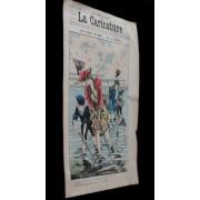 La Caricature N°549, 11e Année, 5 Juillet 1890