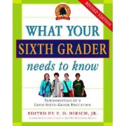 What Your Sixth Grader Needs to Know by E D Hirsch