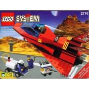 LEGO 2774 System - Avión Red Tiger (año 1999)