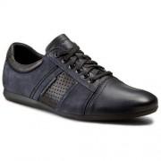 Sneakersy KRISBUT - 4672-3-1 Granatowy