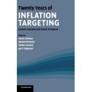 Twenty Years of Inflation Targeting by David Cobham