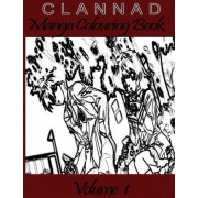 Clannad Manga Coloring Book by Go with the Flo Books