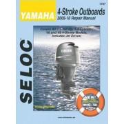 Yamaha 4-Stroke Engines 2005-10 Repair Manual by Seloc