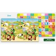 Speeltapijt - Speelkleed Zoo - Dierentuin M