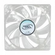 Ventilator Deep Cool Xfan 120L transparent led red