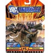 DC Universe: Fighting Figures Catwoman vs Batman Action Figure 2-pack