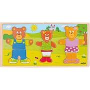 Woodyland Bear Family Dress-Up Puzzle