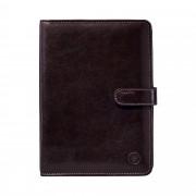 Dunkelbraunes Leder Adressbuch