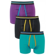 Mens Next Colour A-Fronts Three Pack - Multi