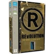 NIV, Revolution: The Bible for Teen Guys, Imitation Leather, Blue/Charcoal by authors of the bestselling book Do Hard Alex and Brett Harris Things