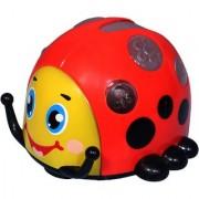 Mitashi Sky Kidz Rollover Beetle Musical Toy(Red)