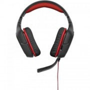 Casti gaming Logitech G230 Stereo Gaming Headset Black-Red