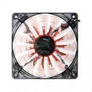 Aerocool Wentylator do obudowy PC Aerocool Shark FAN EVIL BLACK LED, (SxWxG) 120 x 120 x 25 m