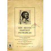 Ein Neues Porträt Petrarcas, Eine Studie Über Di Wechselwirkung Zwischen Literatur Und Bildender Kunst Zu Beginn Der Renaissancezeit (Inaugural-Dissertation)
