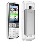 ClickAway Nokia C5 Full White Mobile Phone Housing Body Panel