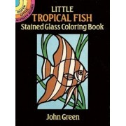 Little Tropical Fish Stained Glass by John Green