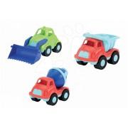 Maşină pentru copii Écoiffier 3bc camion, camion betonieră, încărcător frontal lungime 21 cm de la vârsta de 18 luni