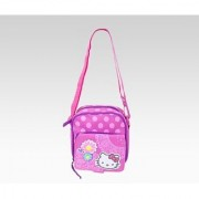 Hello Kitty Shoulder Pouch: Spring Flowers