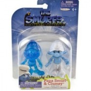 The Smurfs Movie Grab Ems Exclusive Mini Figure 2Pack Papa Smurf Clumsy