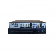 Registratore videosorveglianza Dvr 8 canali Audio/Video AHD ibrido 720p Hdmi VGA