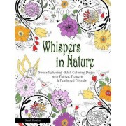Whispers in Nature Adult Coloring Books by Sarah Douthitt