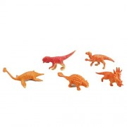 Life Boost Plastic Mini Dinosaurs Toy Assorted Dinosaur Figures with Trees Set of 22