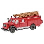 Schuco Magirus-Deutz LF16 Fire Truck 1/87 Schuco 24820 Auto
