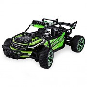 SZJJX RC Cars Off-Road Rock Vehicle Crawler Truck 2.4Ghz 4WD High Speed 1:18 Remote Radio Control Racing Cars Electric Fast Race Buggy Hobby Car Green
