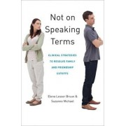Not on Speaking Terms by Elena Lesser Bruun