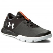 Обувки UNDER ARMOUR - Ua Charged Ultimate Tr 2.0 1285648-001 Blk/Wht/Wht