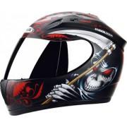 Capacete ZEUS 2000A Z8 Reaper Black Red