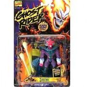 Marvel Comics Ghost Rider Zarathos Action Figure Toy Includes Custom Comic Book